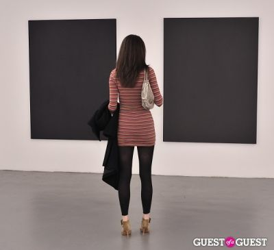 eva fedderly in Barnaby Hosking - New Works opening at Charles Bank Gallery