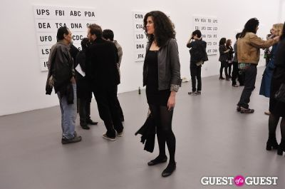 eva fedderly in Allen Grubesic - Concept exhibition opening at Charles Bank Gallery