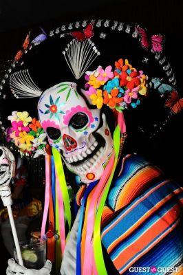 evan lenhoff in Patricia Field Aristo Halloween Party!