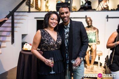 eve monica in Celebrity Hairstylist Dusan Grante and Eve Monica's Birthday Soirée