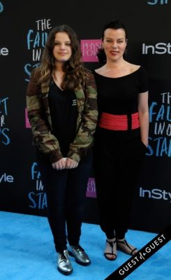 debi mazar in The Fault In Our Stars Premiere