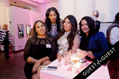 fatima hill in The 2nd Annual NBA, NFL and MLB Wives Holiday Soiree