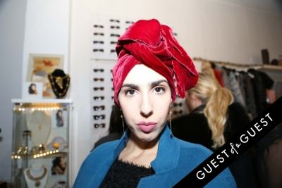 faustina rose in Creeds Collective Pop Up