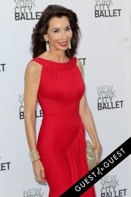 fe fendi in NYC Ballet Fall Gala 2014
