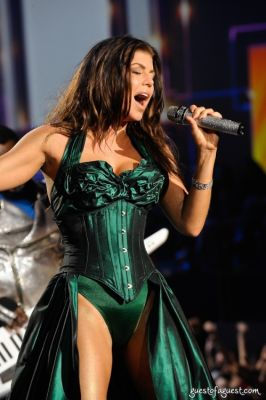 fergie in Victorias Secret Fashion Show
