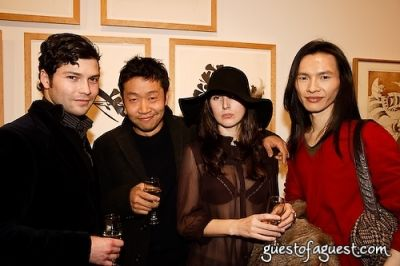 ferny chung in Timo Weiland Neckwear Event