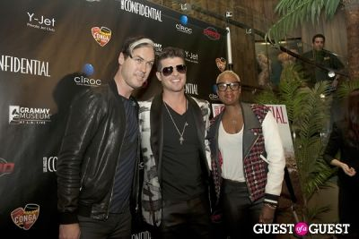 michael fitzpatrick in Los Angeles Confidential Grammy Party With Robin Thicke - Arrivals