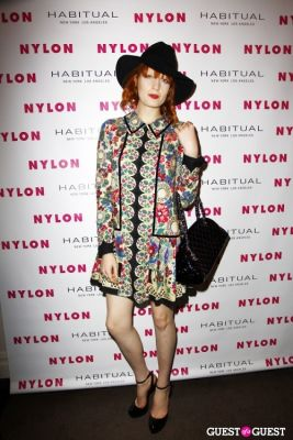 florence welch in NYLON Music Issue Party