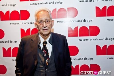 frank stella in Museum of Arts and Design's annual Visionaries Awards and Gala