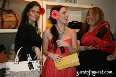 frieda shor in Contacts and Champagne with designer Jacquelyn Lacroix