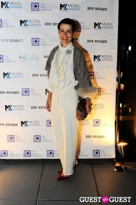 gabriele franzen in The King Collective and ModelKarma present The End Of NYFW - White Party