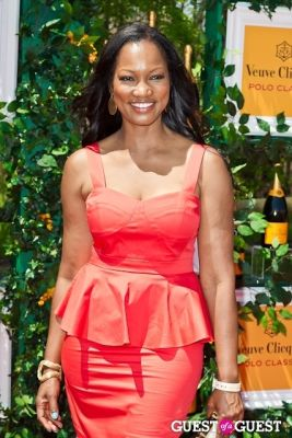 garcelle beauvais--in-shoshanna--at-the-veuve-clicquot-polo-classic-2013 in Veuve Clicquot Polo Classic 2013