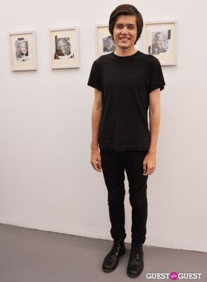 garrett pruter in Third Order exhibition opening event at Charles Bank Gallery