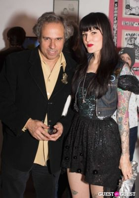 gary baseman in Cat Art Show Los Angeles Opening Night Party at 101/Exhibit
