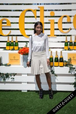 genevieve jones in Veuve Clicquot Polo Classic 2014