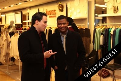 jason mcnary in Hoss Intropia at Bloomingdales Soho