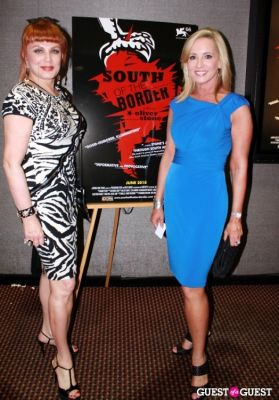 jamie colby in NY Premiere of 'South of the Border'