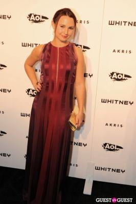 georgina bloomberg in Whitney Studio Party 2010