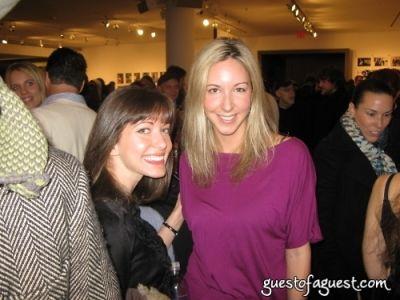 georgina manne in Mike Figgis at Milk Gallery