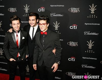gianluca ginoble in The Grove's 11th Annual Christmas Tree Lighting Spectacular Presented by Citi