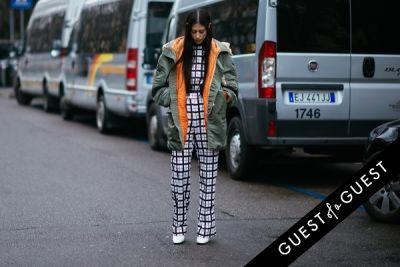 gilda ambrosio in Milan Fashion Week Pt 3