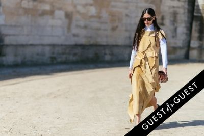 gilda ambrosio in Paris Fashion Week Pt 3