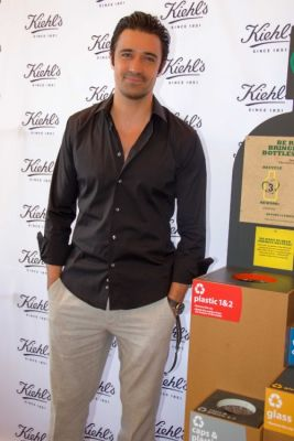 gilles marini in Kiehl's Earth Day Partnership With Zachary Quinto and Alanis Morissette