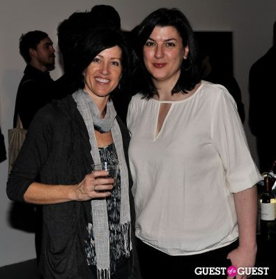 gina fraone in Garrett Pruter - Mixed Signals exhibition opening