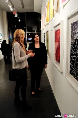 gina fraone in COLOR or COLOUR Exhibition Opening