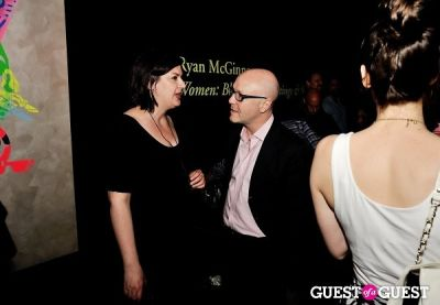 gina fraone in FLATT Magazine Closing Party for Ryan McGinness at Charles Bank Gallery