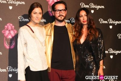 amis garrigue in Dom Perignon & Jeff Koons Launch Party