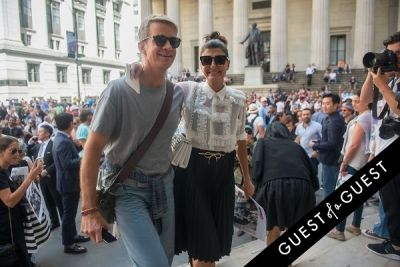 giovanna battaglia in Fashion Week Street Style: Day 7
