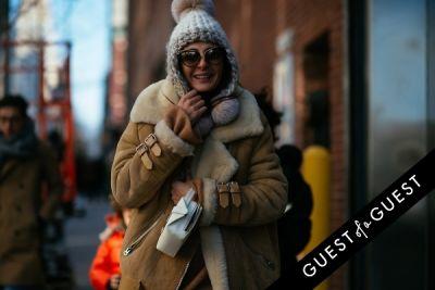 giovanna battaglia in NYFW Street Style Day 4