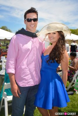 giuseppe lanzone in Becky's Fund Gold Cup Tent 2013