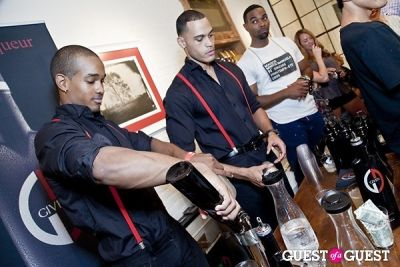 given liqueur in Matt Bernson Celebrates Fashion's Night Out 2012