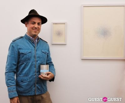 gordon hull in Third Order exhibition opening event at Charles Bank Gallery