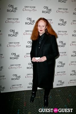 grace coddington in NY Premiere of ON THE ROAD
