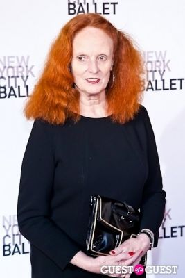 grace coddington in New York City Ballet's Spring Gala