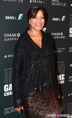 grace hightower in 2011 Huffington Post and Game Changers Award Ceremony