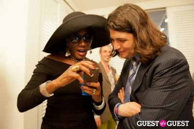 grace jones in FNO Celebrates The Opening Of Alexander Berardi New York Flagship Boutique