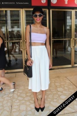 grasie mercedes in NYFW Style From the Tents: Street Style Day 4