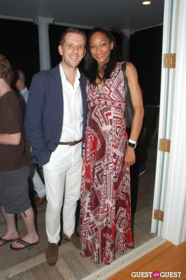 portia holt in Vogelsang Gallery After- Hamptons Fair Cocktail Party