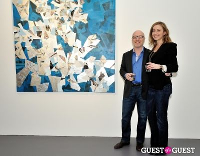 aubree nichols in Port and Out of Context Exhibition Opening