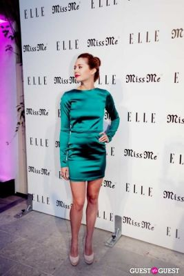 "haley strode in ELLE MAGAZINE AND ""MODERN FAMILY"" STAR SARAH HYLAND HOST SONGBIRDS' ""MISS ME"" ALBUM RELEASE PARTY"