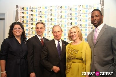 justin tuck in Children's Museum of Manhattan Celebration