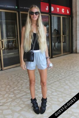 hanalei in NYFW Style From the Tents: Street Style Day 3