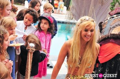"""hannah fraser in """"Last Night I Swam with a Mermaid"""" - Book Release Party"""