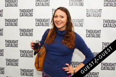 hannah sloane in Thought Catalog Hosts The Book Launch