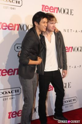harry shum-jr. in 9th Annual Teen Vogue 'Young Hollywood' Party Sponsored by Coach (At Paramount Studios New York City Street Back Lot)