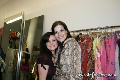 haylie proudfoots in Shopping, Champagne and Charity with Fashion designer Tani Keller
